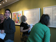 Artist Reception at the PII Gallery in Philaelphia