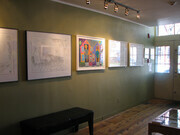 Image of Show at PII Gallery Prior To Opening
